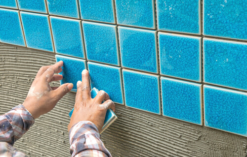swimming pool tile line repairs sydney